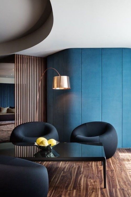 appealing blue wall colors ideas