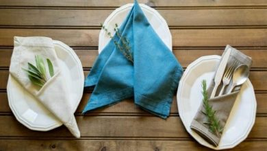 Photo of 5 tips on how to choose the right napkin folding technique for you!