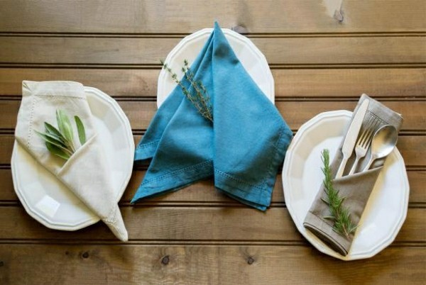 napkins folding techniques simple ideas