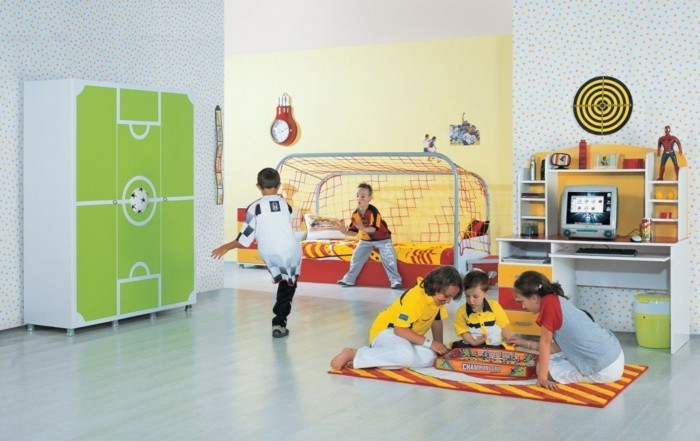 Nursery Decor Football Design Interior Ideas Kids
