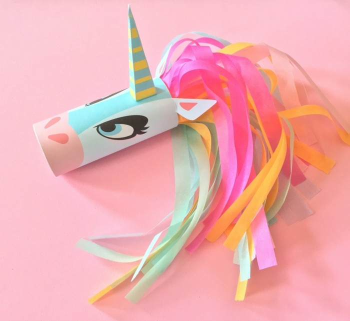 tinkering with paper rolls diy ideas decorating ideas tinker with kids unicorn1