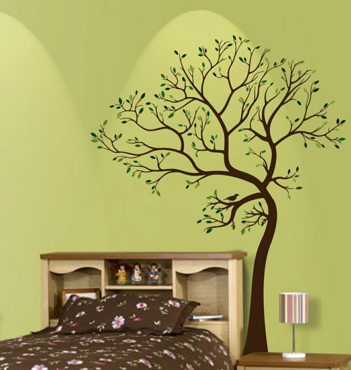wall decals tree bedroom decorating ideas wall decoration