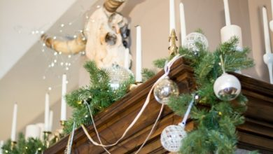 Photo of Making rustic Christmas decorations yourself: effective and simple ideas