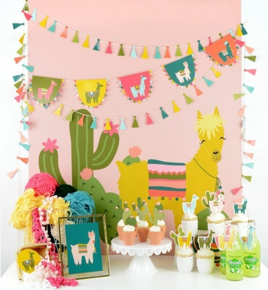 birthday motto south american lams and birthday decoration ideas