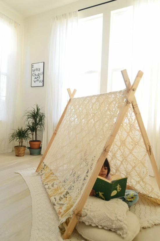 tipi tent and children's room ideas
