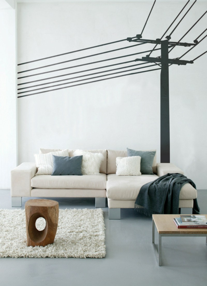 decorating ideas ideas deco wall stickers rustic coffee table
