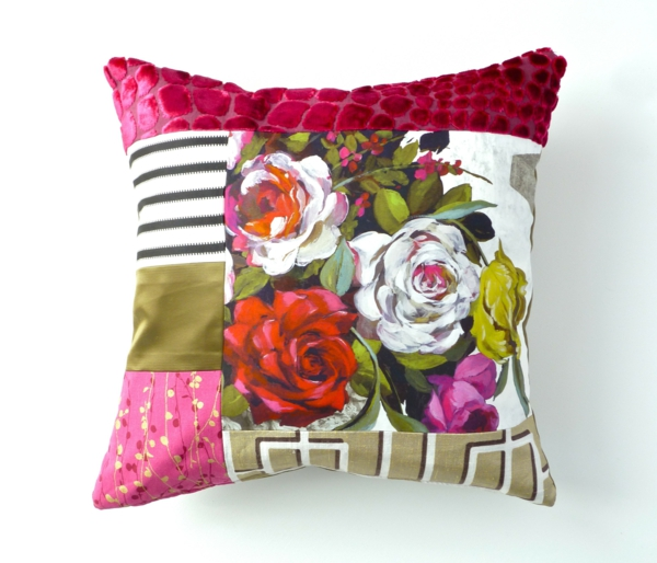 patchwork fabrics beautiful home decor throw pillows