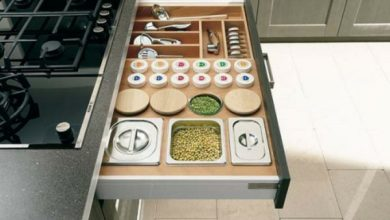 Photo of 53 practical ideas for the organization of kitchen drawers