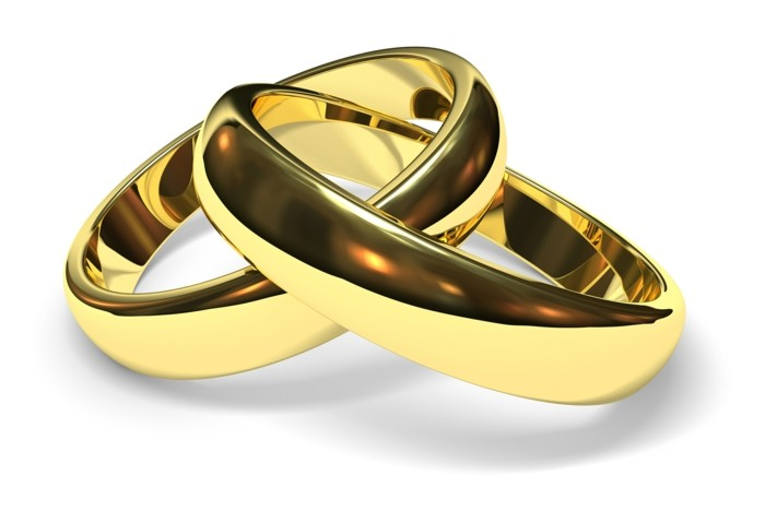 a classic variant for wedding rings