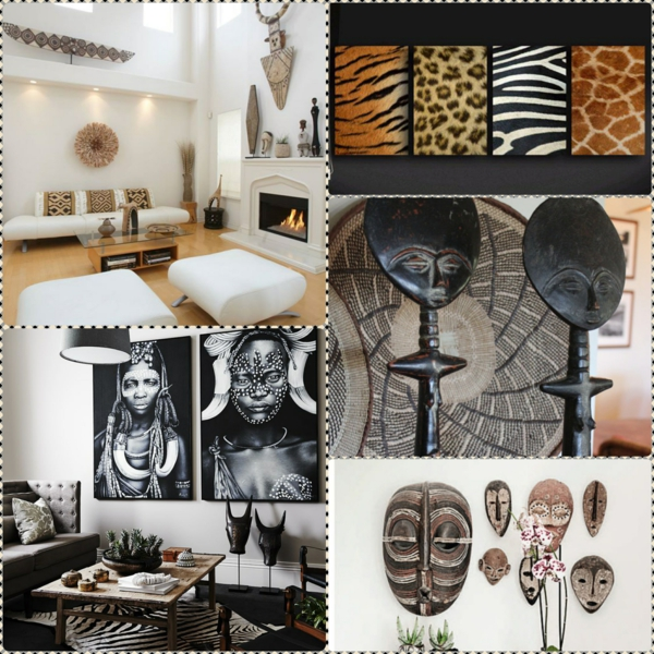 africa decoration deco african pattern home accessories