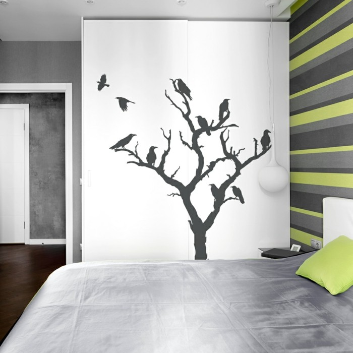 beautiful wall decals tree living room bedroom