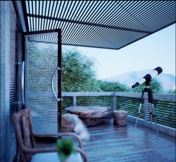 Terrace canopies different types