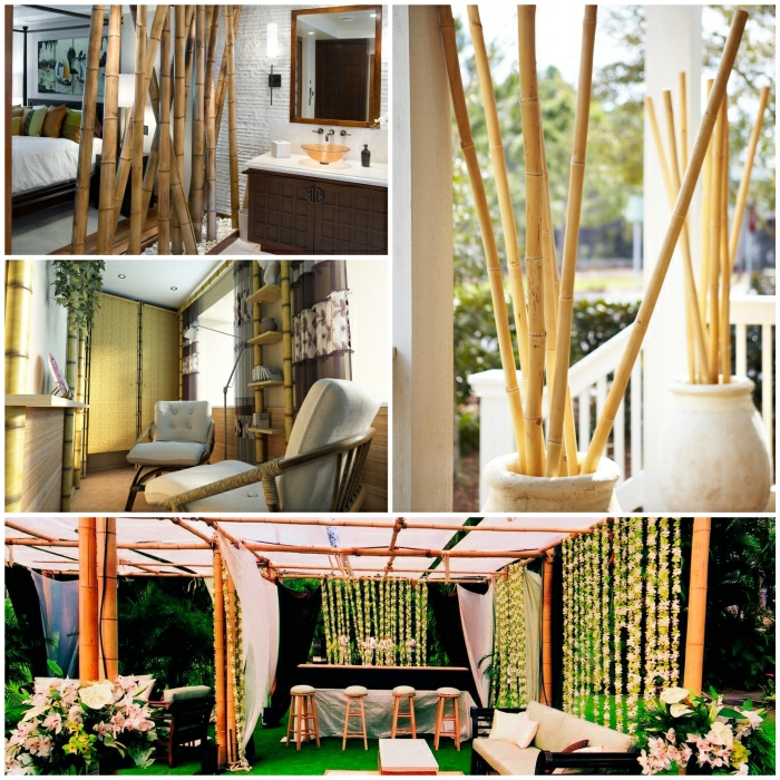 bamboo decor room decorating bamboo stakes