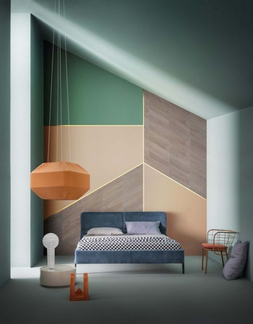 pantone wall colors ideas sloping roof