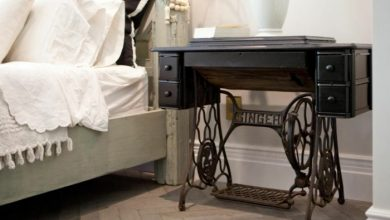 Photo of 23 deco ideas on how your old sewing machine finds a reuse