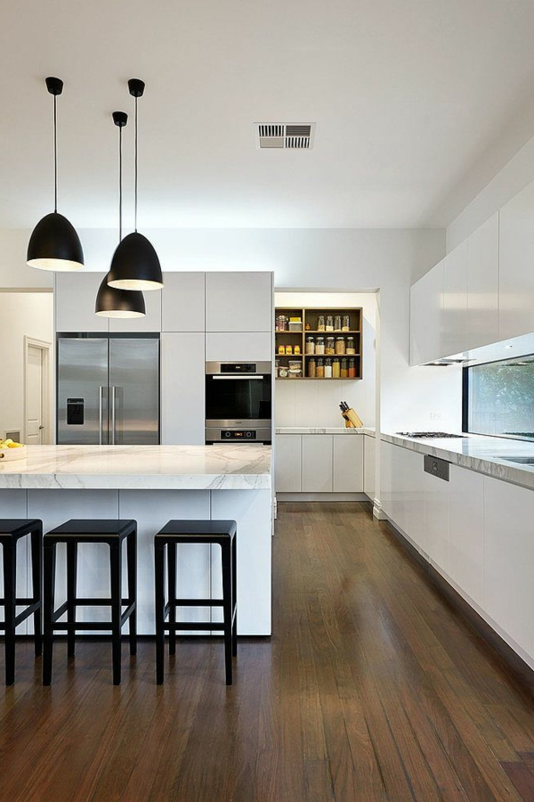kitchen design white interior