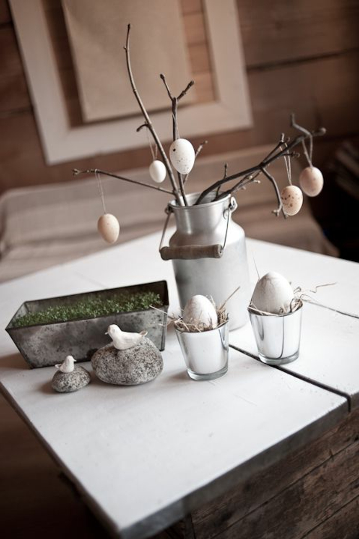 deco ideas easter easter eggs tree branch creative crafts deco ideas