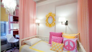 Photo of Room divider children's room – a help with the nursery design