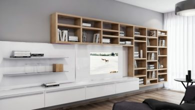 Photo of Wall unit ideas.  The wall unit – elegant and practical