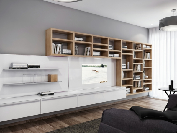 Wall Unit Ideas The Wall Unit Elegant And Practical