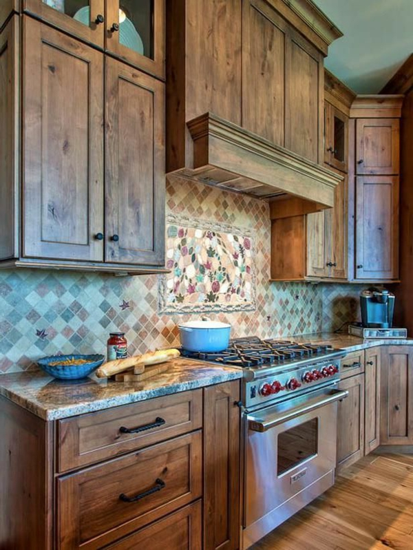 closet kitchen wood furniture tiles