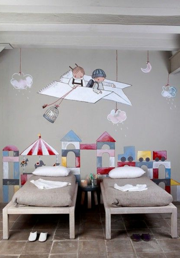 Nursery walls decorate wall painting