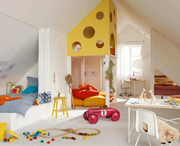 children's room with room to play
