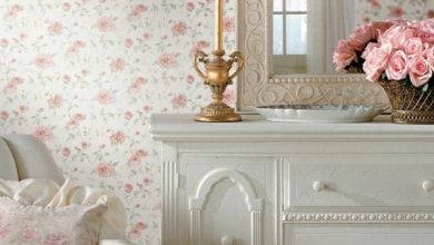Photo of Wallpaper Country Style – Fresh ideas as you dress the walls