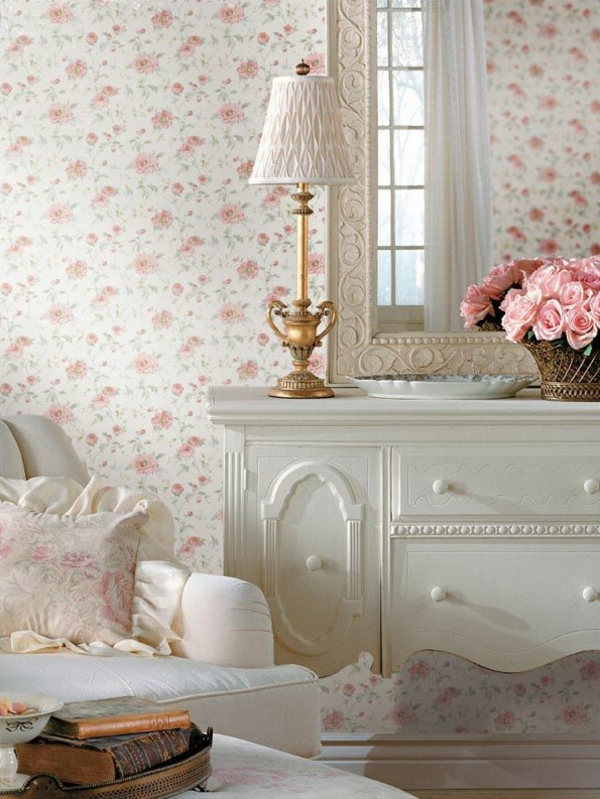 wallpaper country style walls dress up decorate