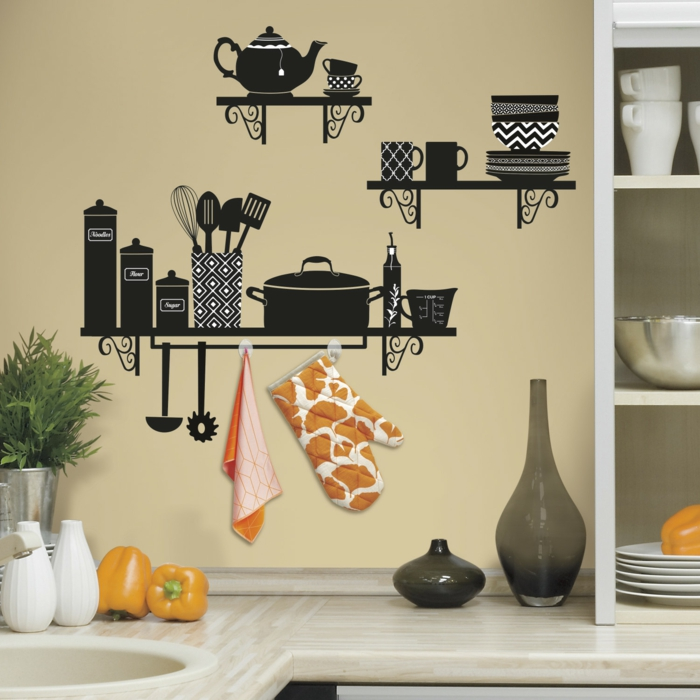 wall decals funny wall decoration ideas wall design kitchen