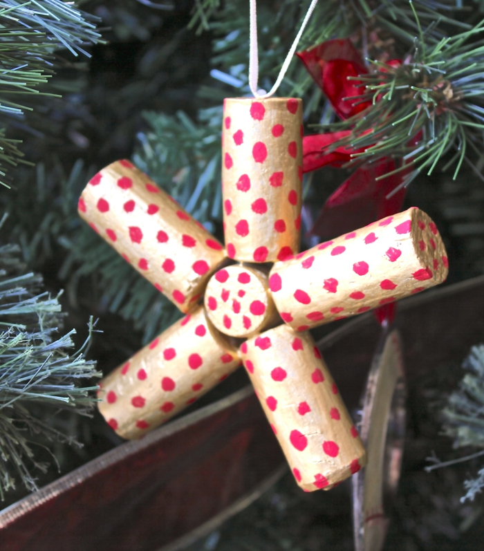 craft ideas christmas cork use tinker crafting make colored