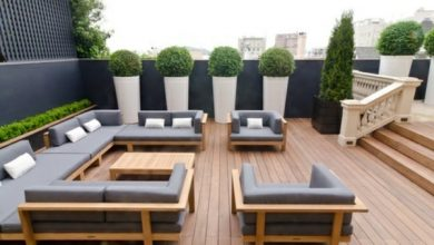 Photo of Matching cushions for outdoor use – inspiring solutions
