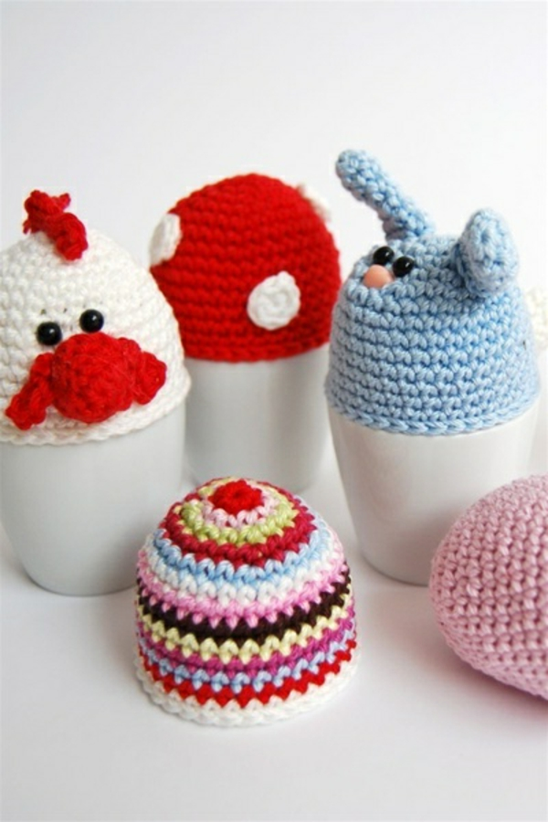easter decoration crochet easter eggs decorate decoration easter