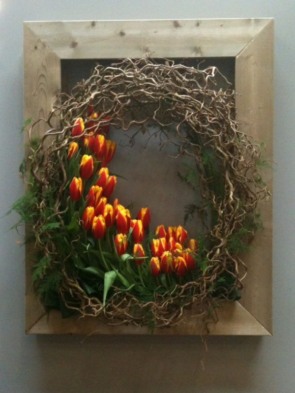 spring flowers pictures easter decoration ideas easter wreath tinker
