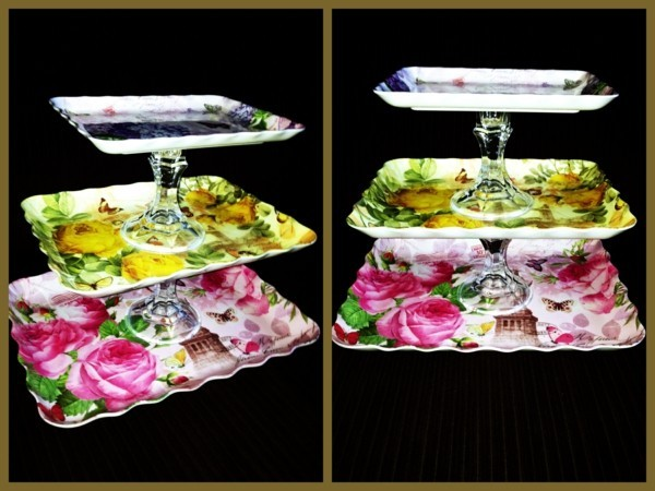 Cake stand itself build vintage