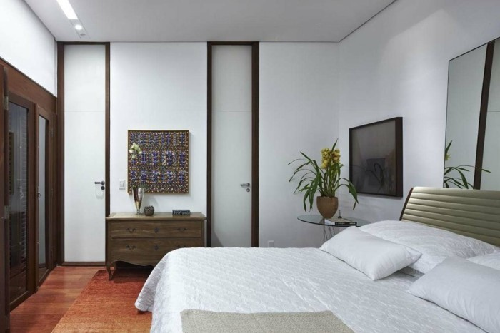 wall decoration ideas bedroom white walls