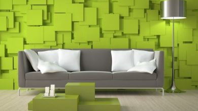 Photo of The attractive wall design: 3D wallpapers