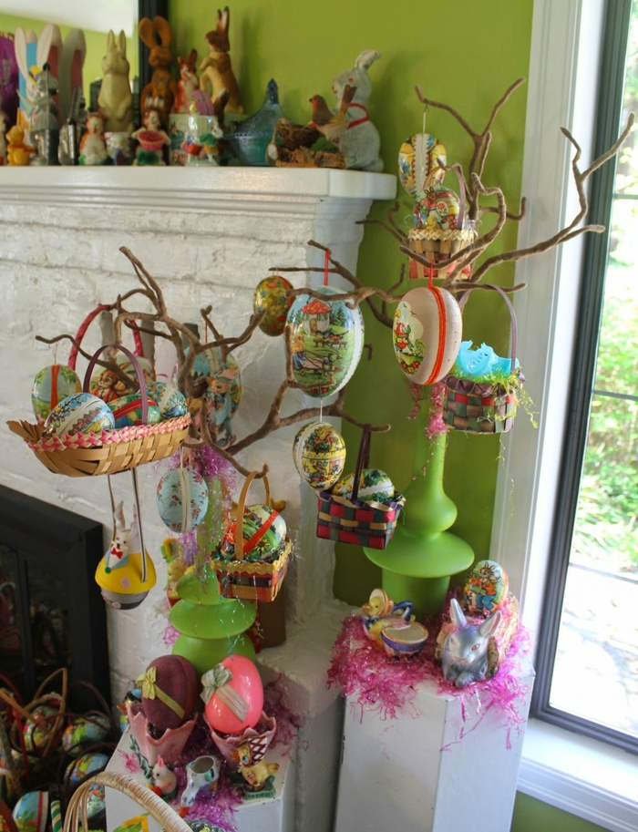 easter decoration craft ideas easter easter eggs hanging colored