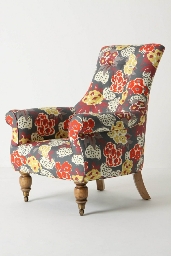 spring flowers pictures armchair flower pattern living room furniture designer armchair