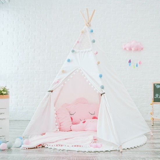 build your own tent and decorate the play tent for the children's room