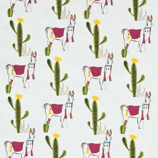 Lama motifs as bedding pattern birthday decorations