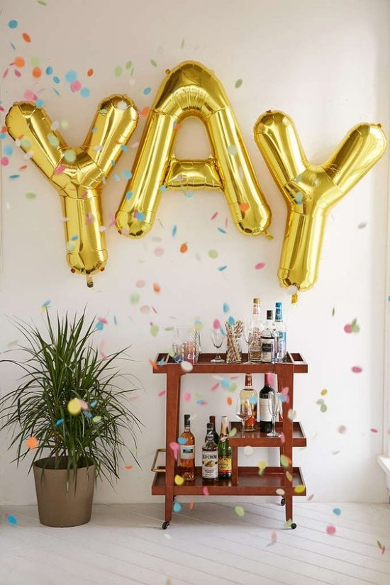 wall decoration ideas party balloons