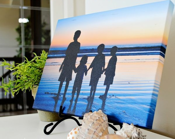 modern canvas pictures design your own print travel holiday summer