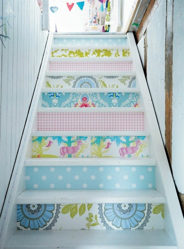 wallpapers stairs design wall murals deco ideas