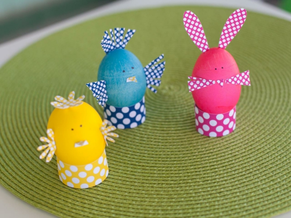 decorate easter craft ideas easter eggs paper