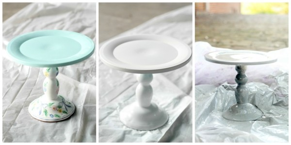 Cake stand do it yourself idea
