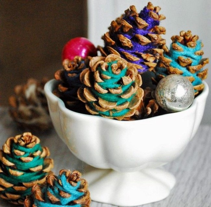 tinker christmas decorating cones