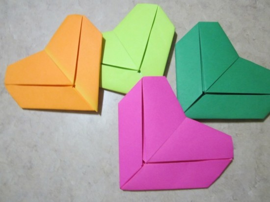 bookmarks tinker multicolored hearts