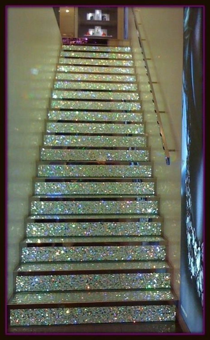 deco ideas wallpapers staircase shape wallpaper pattern