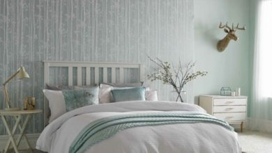 Photo of Bedroom wallpapers: ideas and tips for their application